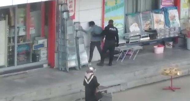 POLİS KONTROL NOKTASINDAN KAÇTI ZABITA EKİBİ YAKALADI