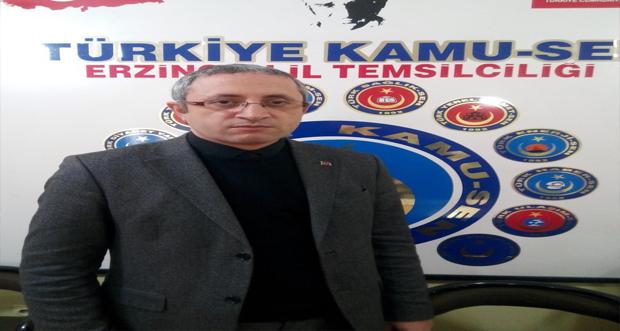 Erzincan Türk Sağlık-Sen Şube Başkanı Sağlık Bakanı Fahrettin Koca'ya Açık Mektup