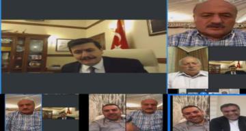VİDEO KONFERANS İSTİŞARE TOPLANTISI