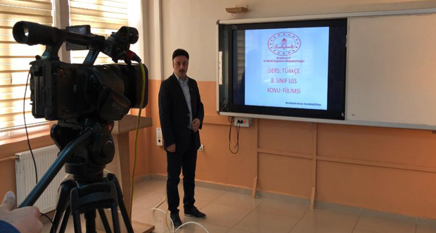 LGS 'ye hazırlık dersleri ERT ŞAH TV ekranlarında