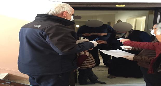 Yaşlıların Maaşları ve İhtiyaçlıların Destek Ödemeleri Evlerine Götürülüyor