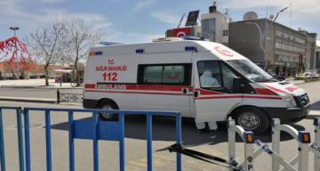 Erzincan'da iki kişi hastaneye kaldırıldı