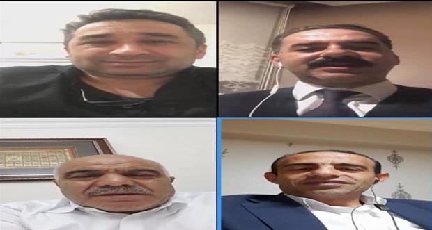 Erzincan Ak Parti İl Başkanı Mehmet Cavit ŞİRECİ'nin önderliğinde ilçe belediye başkanlarıyla telekonferans gerçekleştirildi