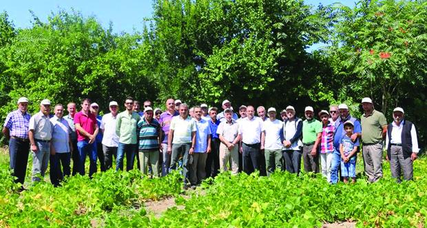 Erzincan İl Tarım ve Orman Müdürü Murat Şahin 14 Mayıs Dünya Çiftçiler Günü'nü kutladı