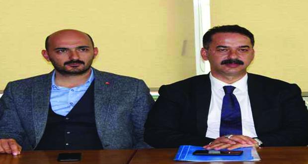 AK Parti Teşkilatı Engelliler haftası dolayısıyla basın açıklaması yaptılar