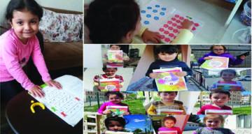 4-6 Yaş Grubu Kur'an Kursu Öğreticisinden Öğrencilerine Ziyaret