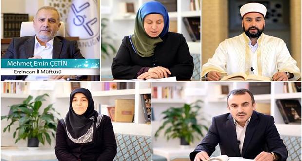 Vaaz İrşat Manevi Danışmanlık ve Dini Rehberlik Hizmetleri Sosyal Medya Platformları Aracılığıyla Gerçekleştiriliyor