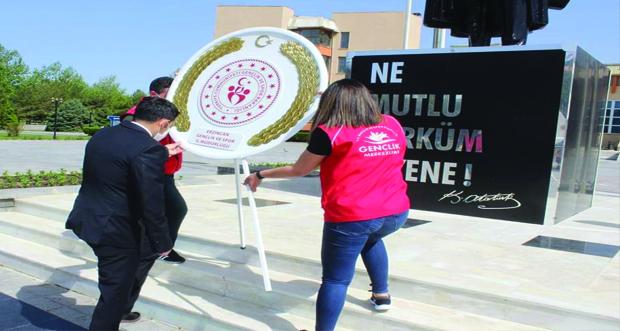 Erzincan'da Gençlik Haftası kutlama etkinlikleri başladı