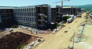 Munzur Üniversitesi Aktuluk Kampüsü inşaatında sona yaklaşıldı