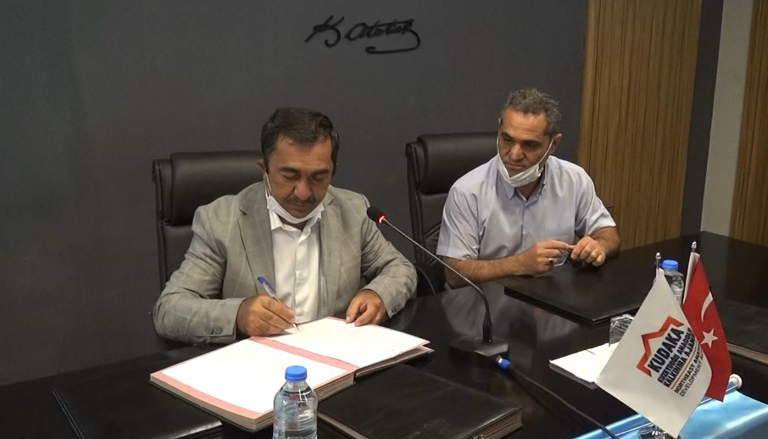 Erzincan'da üç proje için imza töreni düzenlendi