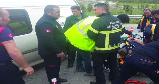 Erzincan'da 793 adet ölümlü yaralanmalı trafik kazası meydana geldi
