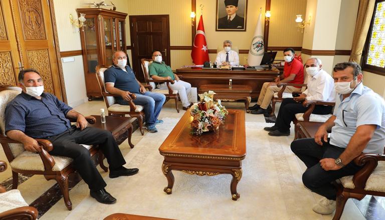 Vali Mehmet Makas'a Hayırlı Olsun Ziyareti Devam Ediyor