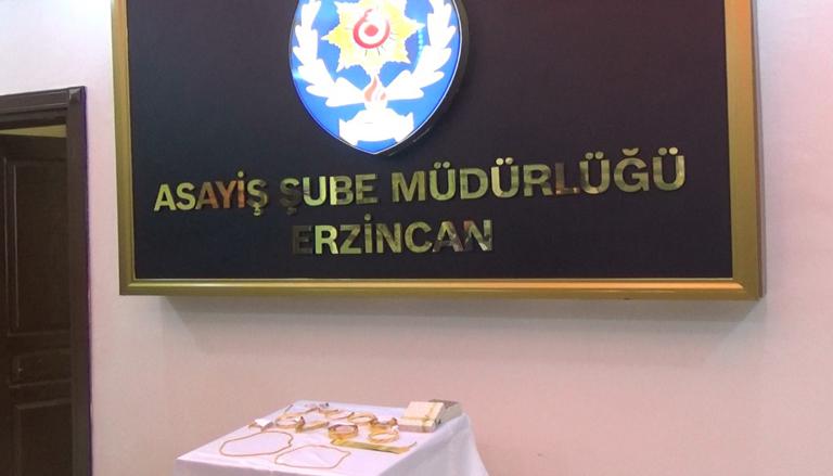 Erzincan'da sahte altın bilezik satmaya çalışan 2 kişi yakalandı