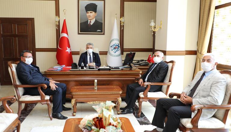 Vali Mehmet Makas'a Hayırlı Olsun Ziyaretleri Devam Ediyor