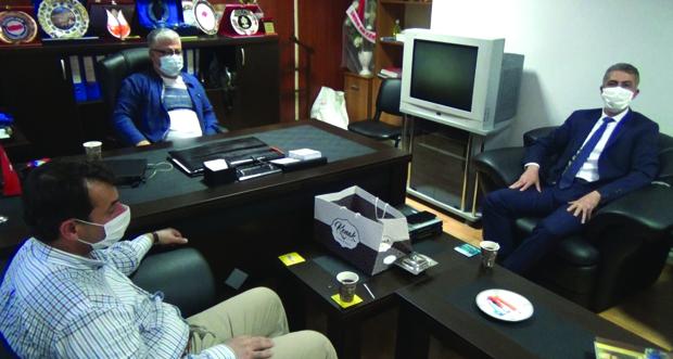 Aydın Erzincan Gazeteciler Cemiyetini (EGC) ziyaret etti