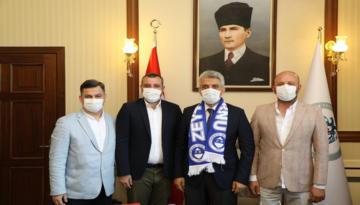 İşadamlarından Vali Mehmet Makas'a Ziyaret