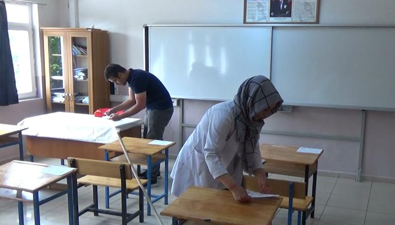 Erzincan'da okullar sınava hazır