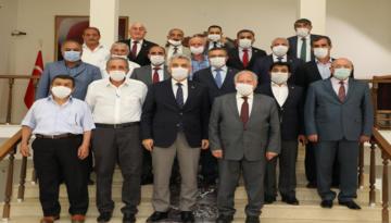 Erzincan İl Genel Meclisi Başkan ve Üyeleri Mkasa'a Hayırlı Olsun Ziyaretinde Bulundu