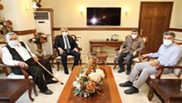 Sultanbeyli Belediye Başkanı Hüseyin Keskin Makas'a Hayırlı Olsun Ziyaretinde Bulundu