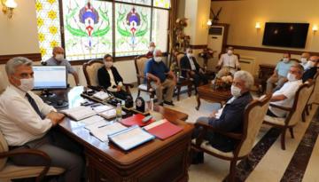 Erzincan Valisi Mehmet Makas'a Hayırlı Olsun Ziyaretleri Devam Ediyor