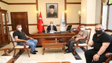 ERT Şah TV Yönetim Kurulundan Vali Makas'a Hayırlı Olsun Ziyareti Devam Ediyor