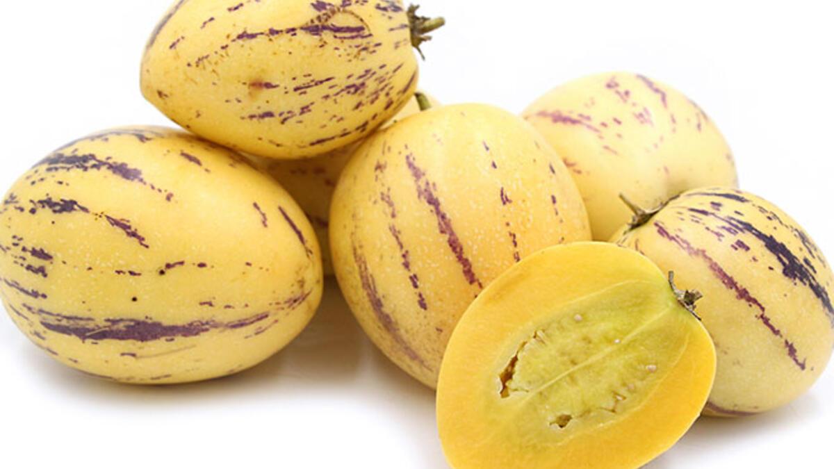 Şeker hastaları için eşsiz bir meyve: Pepino