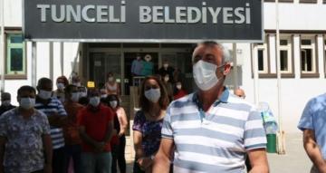 Koronavirüsü yenen Tunceli Belediye Başkanı Maçoğlu görevine döndü