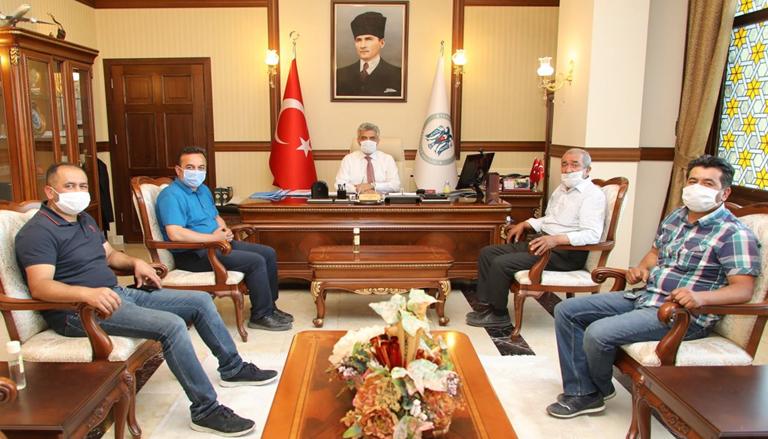 Vali Mehmet Makas'a Hayırlı Olsun Ziyareti Sürüyor
