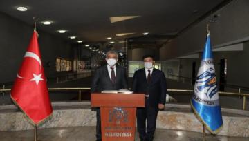 Vali Mehmet Makas Başkan Aksun'a İade-i Ziyarette Bulundu