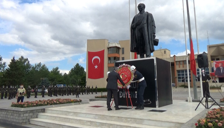 Mustafa Kemal Atatürk'ün Erzincan'a Gelişinin 101. Yıl Dönümü Kutlandı