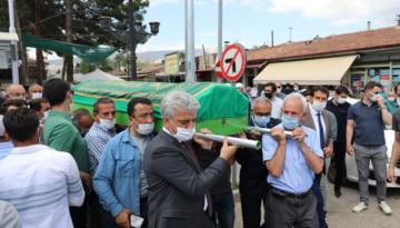 Erzincan Valisi Mehmet Makas Nadime Karapınar'ın Cenaze Törenine Katıldı