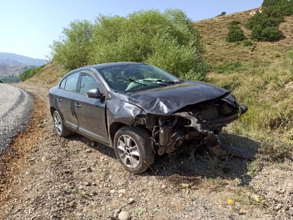 Tunceli'de 2 kazada 8 kişi yaralandı