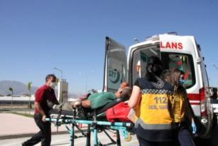 Acemi kasaplar hastaneye akın ettiler