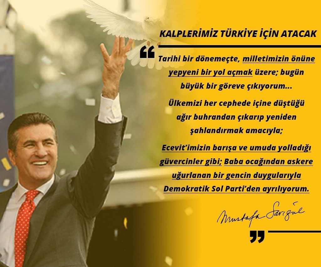 """SARIGÜL """"TÜRKİYE DEĞİŞİM HAREKETİ"""" İLE GELİYOR"""