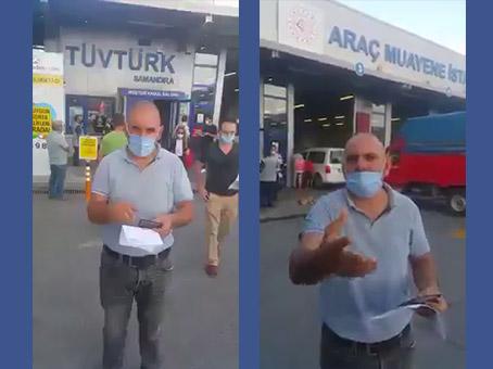 TÜVTÜRK'E ARAÇ MUAYENE ÜCRETİ TEPKİSİ