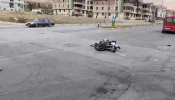ARAŞTIRMA HASTANESİ YOLUNDA MOTOR KAZASI