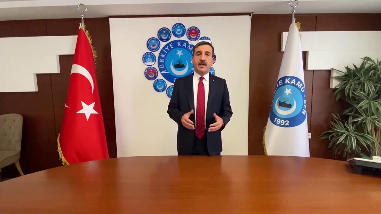 """""""SAĞLIK ÇALIŞANLARININ SORUNLARI ÇÖZÜLMELİ"""""""