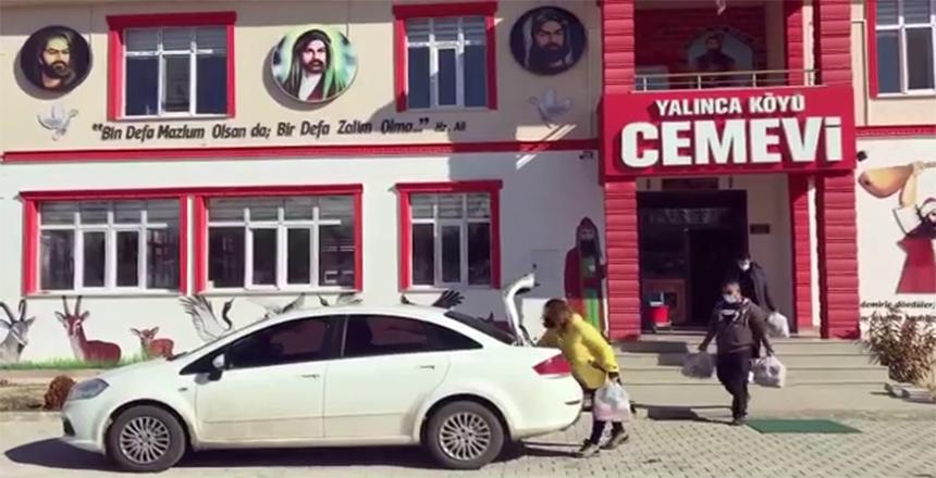 YARDIM KAMPANYASI DEVAM EDİYOR
