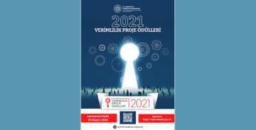 2021 VERİMLİLİK PROJE ÖDÜLLERİ BAŞVURULARI BAŞLADI