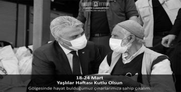VALİ MAKAS YAŞLILAR HAFTASINI KUTLADI