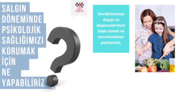 PANDEMİ DÖNEMİNDE PSİKOLOJİK SAĞLIK