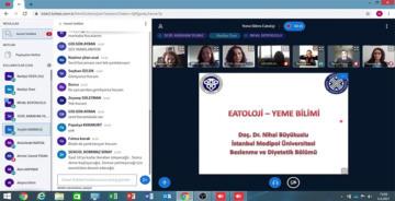 """EBYÜ'DEN """"YEME BİLİMİ-EATOLOJİ"""" WEBİNARI"""
