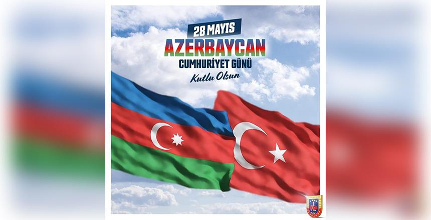 28 MAYIS AZERBAYCAN CUMHURİYET GÜNÜ KUTLU OLSUN