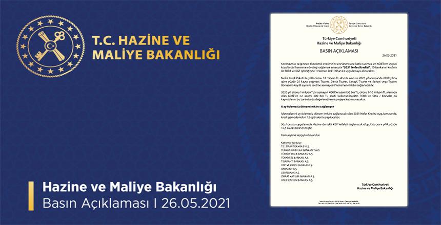 KOBİLERE FİNANSMAN DESTEĞİ 'NEFES KREDİSİ'