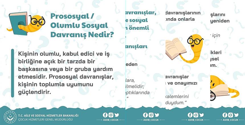 PROSOSYAL/OLUMLU SOSYAL DAVRANIŞ