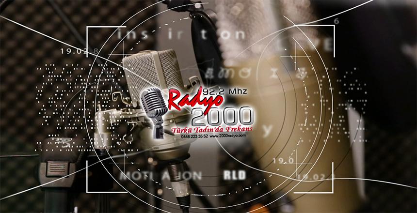 RADYO 2000 IP TV'DEN TAKİP EDİLİYOR