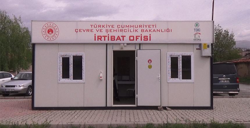 TOKİ İRTİBAT OFİSİ KURULDU