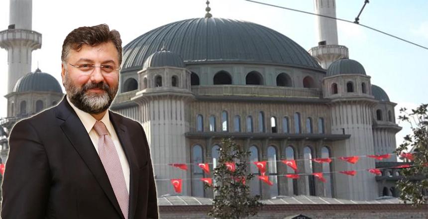 TAKSİM CAMİİ'NDE ERZİNCANLI İMZASI