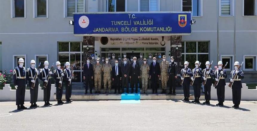 VALİ MAKAS'TAN TUNCELİ VALİLİĞİ'NE ZİYARET