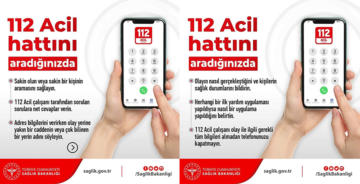 112 ACİL HATTINI ARADIĞINIZDA…